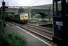 76022 at Dunford West with 76021/76008 passing Aug 21st 1980