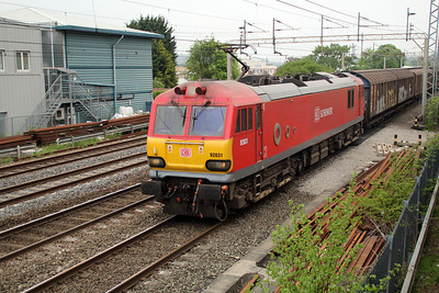 92031 1550/6A42 Daventry-Wembley 20/05/13.