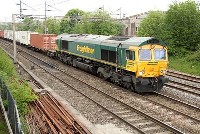 66571 1255/4m54 Tilbury-Basford Hall 20/05/13.