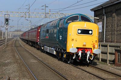 West Coast Mainline workings Between Watford Junction and Milton Keynes.