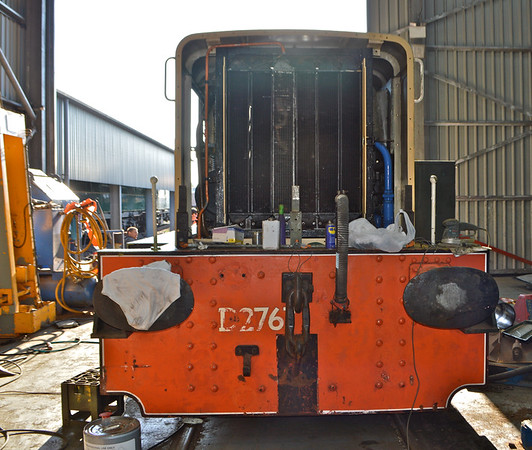 The front end , the buffer beam has been sanded ready for a new coat.<br /> 18th June 2016.