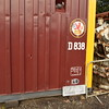 One of the other locos that the NBL /MAN unit was housed in was Warship D838 'Rapid'. <br /> A copy nameplate has been made for the container.<br /> 10th September 2016.
