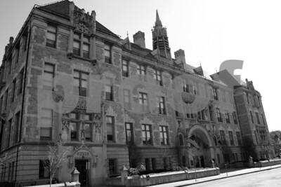 The former Scranton Central High School, current Lackawanna College