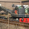 Grafton Steam Crane DRG 80117 - Holt, North Norfolk Railway - 8 March 2014