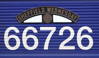 Nameplate details on 66726.