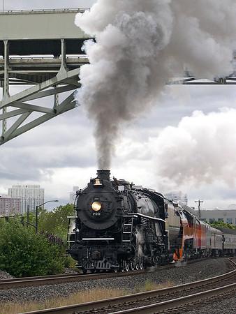 """NRHS """"Western Star"""" Steam Excursion (July 2005)"""