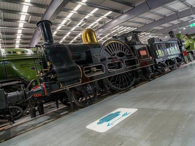 LNWR 2-2-2 3020 'Cornwall'