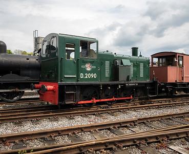 Class 03 Diesel Shunter No. D2090 (03 090)