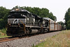 NS 11J with 2684 in the lead passes through Blandon, PA on the NS Reading Line