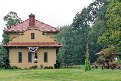 O&W High View station outside Bloomingburg, NY. Now a private residence.