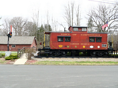 Caboose at Campbell Hall