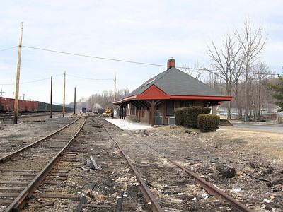 NY Central station at Croton North.