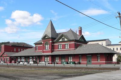 Erie Depot at Port Jervis, NY.