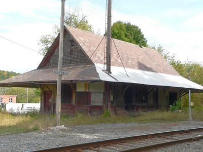 Boston & Maine station in Eagle Bridge NY.