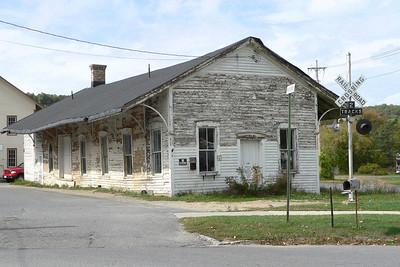 D&H passenger station at Salem NY.