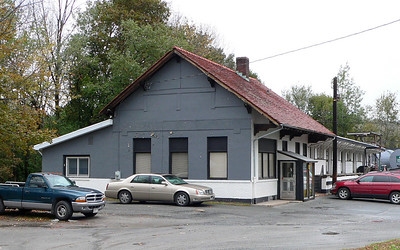 O&W Ferndale station. Now used by an oil Co.