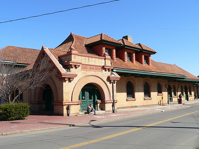 Erie Depot in Middletown, NY. Now a library.