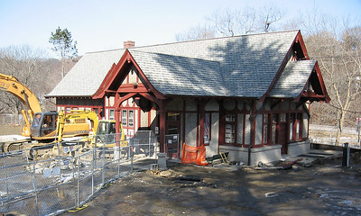 NY Central station at Briarcliff Manor. Now a library.