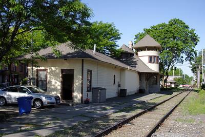 L&HR Warwick NY Depot.