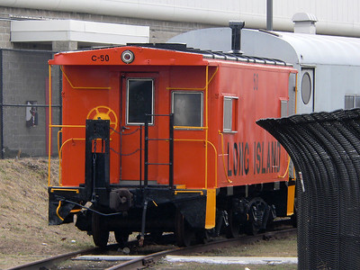 LIRR caboose #50 owned by Friends of Locomotive #35.
