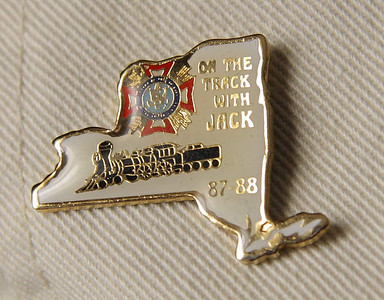 Pin of unknown origin.