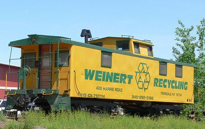 Former Maine Central caboose at Ferndale, NY.