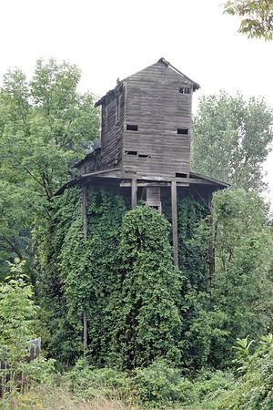 O&W coaling tower at Wurtsboro, NY.