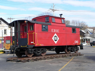 Caboose in Port Jervis.
