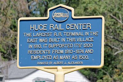 Historic marker at Maybrook.