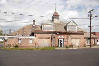 D&H station at Mechanicville NY.