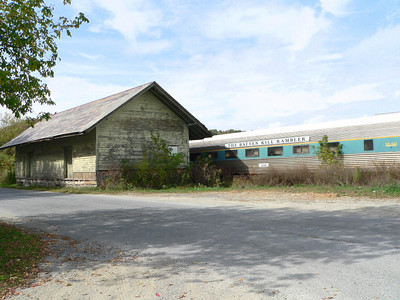 Old D&H freight station in Salem NY.