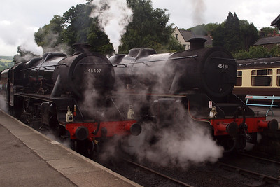 45407 and 45428 at Grosmont.