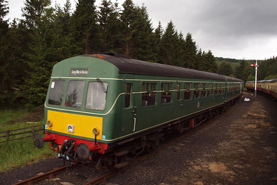 The Class 101 DMU at Levisham.
