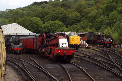 Grosmont shed yard.