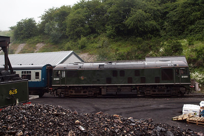 The Class 24 arrives at Grosmont.