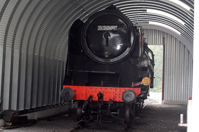 92214 in the wheel drop shed.