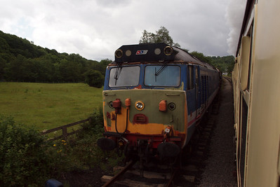 50017 Lion on the headshunt at Grosmont.