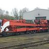 Ransomes & Rapier Crane 95207 - Nene Valley Railway - 8 April 2018