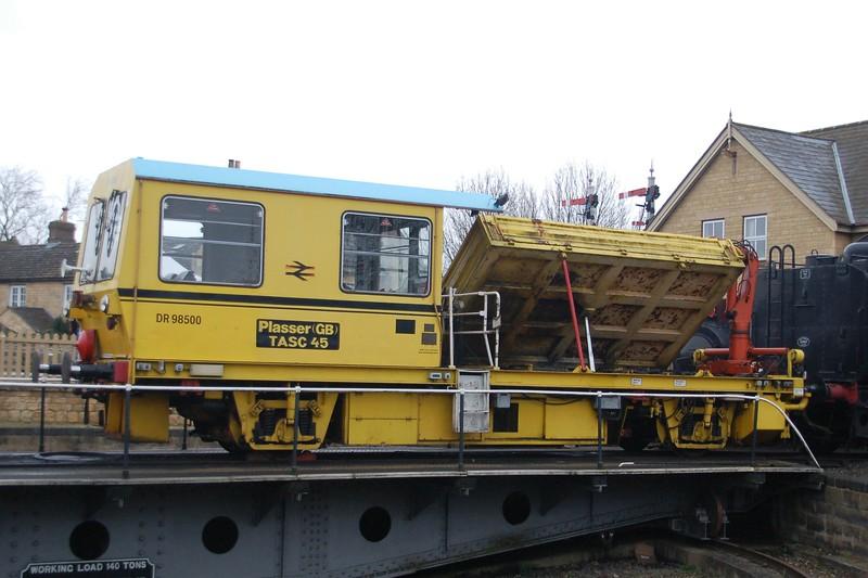 Plasser 52788 DR98500 - Nene Valley Railway - 8 April 2018