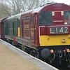 20142 & 20007 - Nene Valley Railway - 8 April 2018