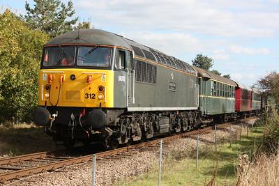 56312 Wansford 1330 Peterborough - Wansford 27/9/14