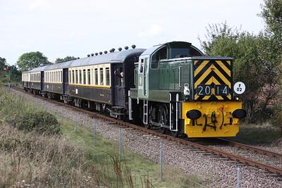 D9520 1300 Wansford - Peterborough 27/9/14