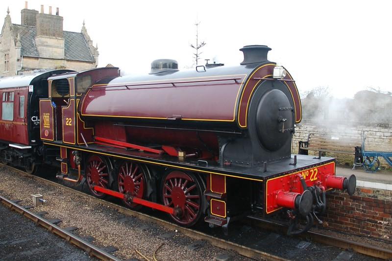 HE 3846 No.22 - Nene Valley Railway - 22 February 2015