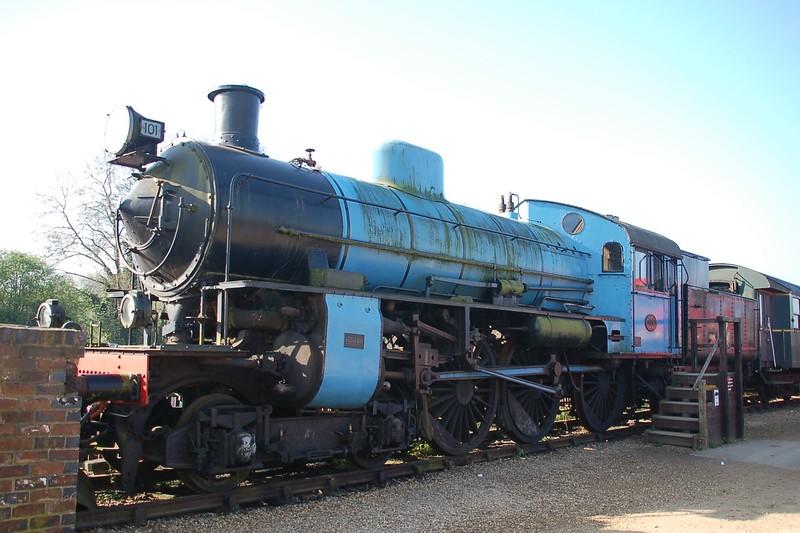 Nohab 2082 SVJB 101A - Nene Valley Railway - 9 April 2017