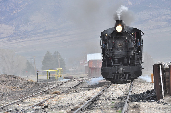 Nevada Northern Railway April 13 and 14 2013