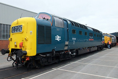55022 Royal Scots Grey and 37901.