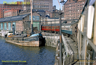 LCGB Lancastrian Railtour, Liverpool Riverside, 6th April 1968