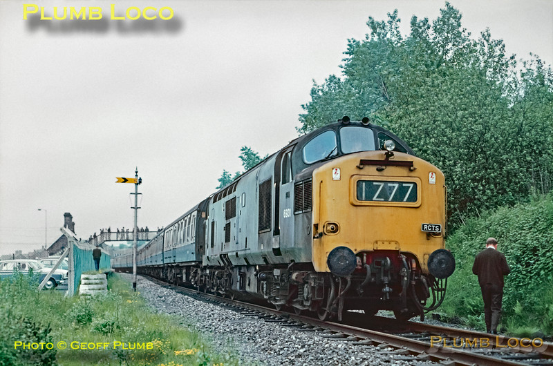 D6931, Llandrindod Wells, 1Z77, 5th June 1971