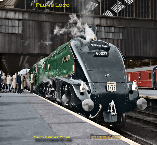"60022 ""Mallard"", King's Cross, 2nd June 1962"