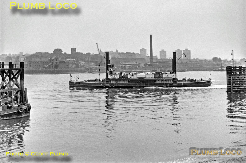 Woolwich Free Ferry, 6th October 1962